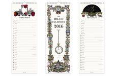 long calendar mock up