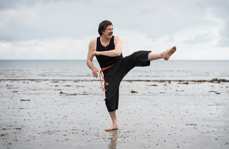 Mindhorn on the beach