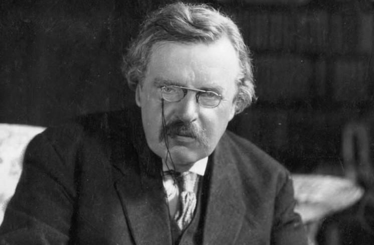 Kết quả hình ảnh cho G.K.Chesterton