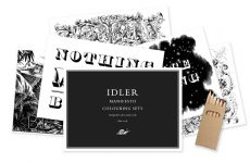 Idler colouring sets by Alice Smith